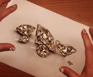drawing, diamond, and art image