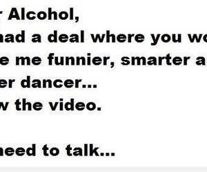 funny and alcohol image