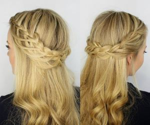 beauty, casual, and hair image