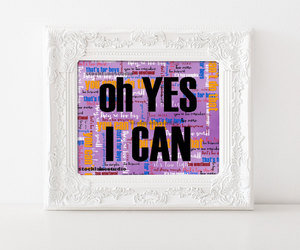 etsy, word art, and typography art image