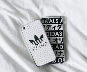 adidas, iphone, and grunge image