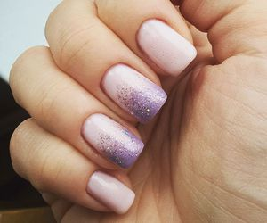 nails, cosmetic, and manicure image