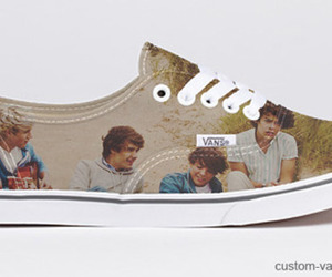 shoes, vans, and one direction image