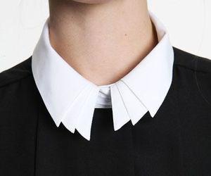 fashion, collar, and shirt image