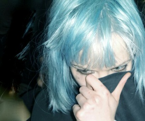 hair, hipster, and blue image