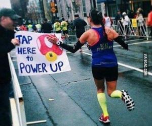 Marathon, power, and run image
