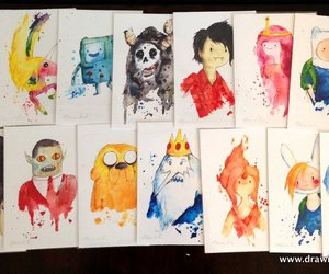 adventure time and art image