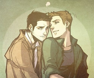 supernatural, destiel, and castiel image