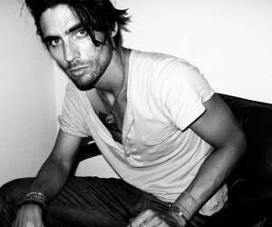 tyson ritter and black and white image