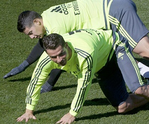 cristiano, james, and real madrid image