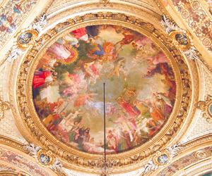 baroque, church, and interior image