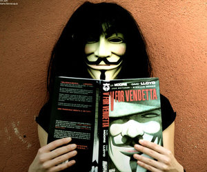 photography and v for vendetta image