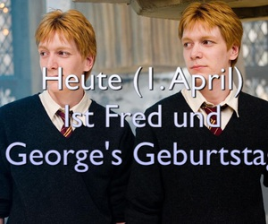 harry potter, weasley, and fred und george image