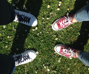 adidas, converse, and shoes image