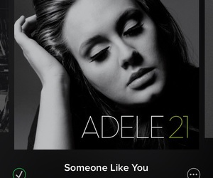 Adele, 21, and music image