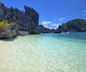 agua, beach, and Caribbean image