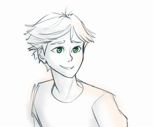 Adrien, miraculous ladybug, and chat noir image
