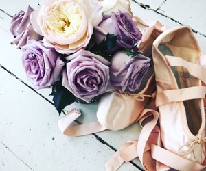 ballet and flowers image