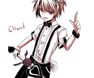 bunny, anime art, and elsword image