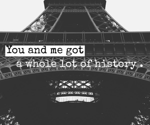 architecture, eiffel tower, and font image