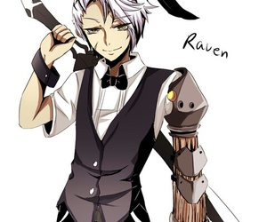 bunny, raven, and elsword image