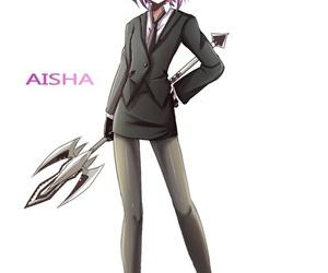 fanart, aisha, and elsword image