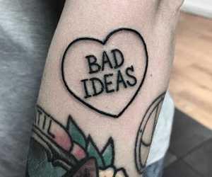 tattoo, heart, and tumblr image