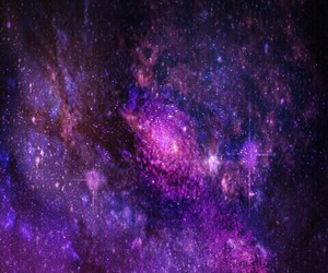 background, galaxy, and purple image