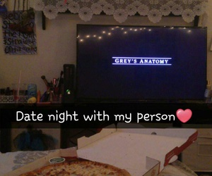 pizza and datenight image