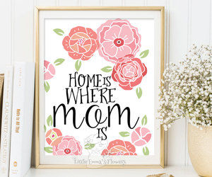 art print, gifts for mom, and instant download image