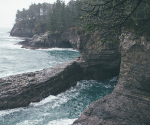 nature, ocean, and water image