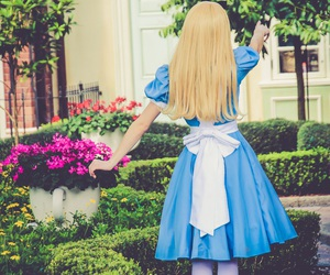 alice in wonderland and disney world image