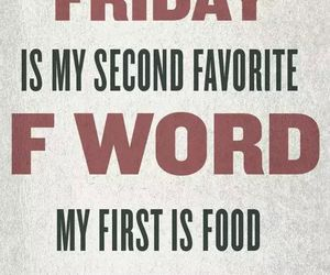 friday, food, and funny image