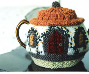 cute, tea, and teapot image