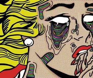 pop art, art, and comic image