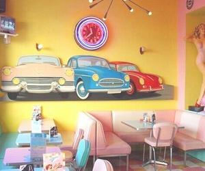 vintage, retro, and diner image