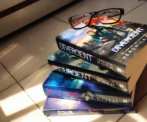 books, reading, and tris image
