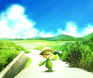 pokemon and sunflora image
