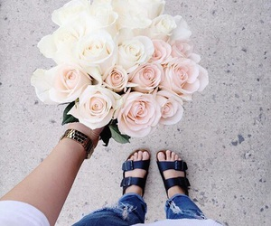 flowers, fashion, and pretty image