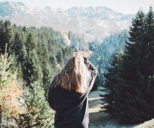 mountains, analog, and autumn image