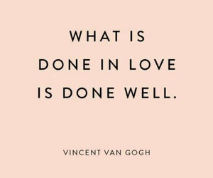 quote, vangogh, and wallpaper image