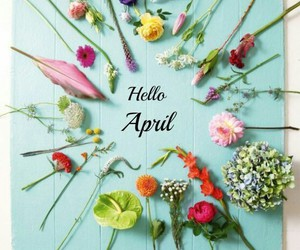 flowers, april, and spring image