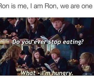 harry potter, funny, and food image