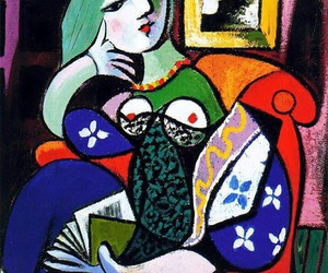 Pablo Picasso, painting, and art image