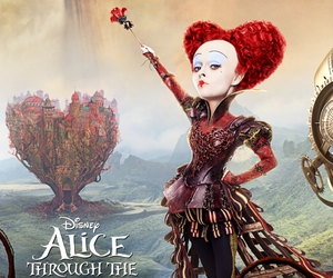 red queen and alice in wonderland image
