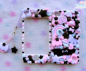 kawaii, pastel goth, and case image