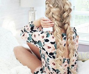 blonde, chic, and girl image