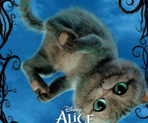 Cheshire cat, cat, and alice image