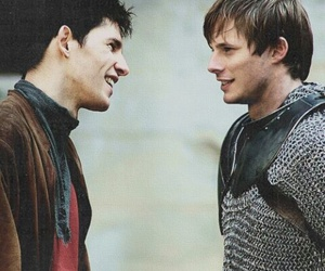 merlin, arthur, and bradley james image