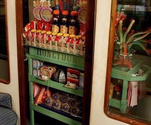 candy, harry potter, and hogwarts express image